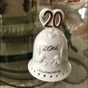 20th Anniversary porcelain Bell